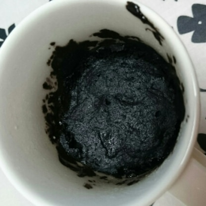 ブラックココアで作りました♪ ふわんふわんでおいしかったです(^^)コーヒーをお供に幸せおやつタイムでした♪♪