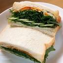 野菜がとれる♪エッグ&グリーンサンド