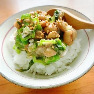 【作り置き】ご飯がすすむネバネバ納豆薬味