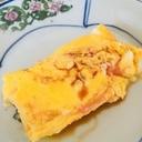 お弁当に☆明太子が入った卵焼き