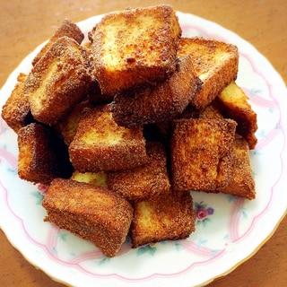 節約&ヘルシー★食パンで紅茶味ラスク