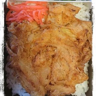 時短お弁当☆甘口かき揚げ丼(冷凍かき揚使用)