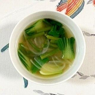 にんにくの芽のスープ