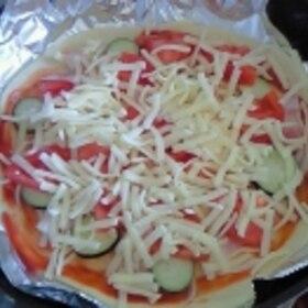 ピザの焼き方