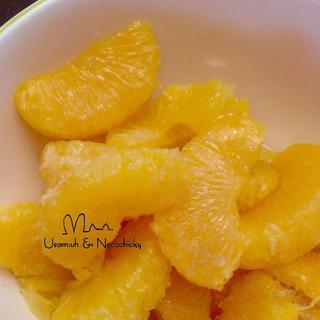 蜜柑の砂糖漬け