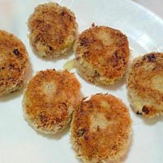 簡単☆フライパンで少ない油で揚げるさくさくコロッケ