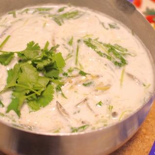 エスニック麺〜ブン〜ココナッツミルクスープ