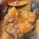 南瓜と牛ミンチの煮込み