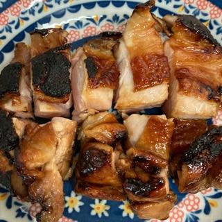 鳥もも肉で、北海道旭川の新子焼き!から鳥南つけ汁!