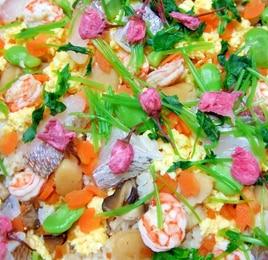 桜ちらし寿司