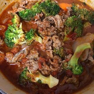 野菜たっぷり♪ 牛肉のトマト煮込み♪