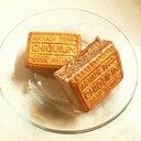 ビスケットサンドアイス チョコ