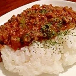 《激辛レシピ》オトナの♥キーマカレー