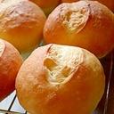 ふんわりもっちり丸パン