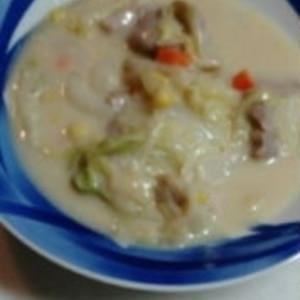 簡単♪白菜のクリーム煮