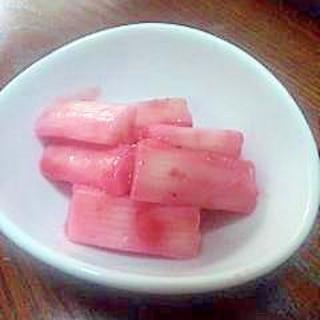 ★長芋(山芋)の梅漬け★