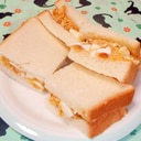 超簡単で絶品♪カニクリーム玉子サンド