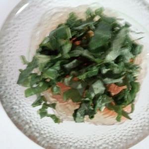 夏のダイエットにトコロテンサラダ