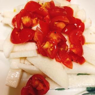 長芋とトマト