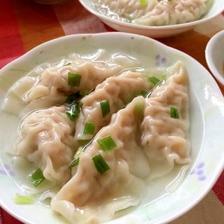 ぷりぷりっ♫白菜入り水餃子