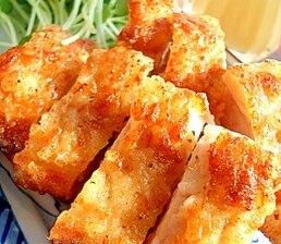 鶏肉のにんにく塩から揚げ