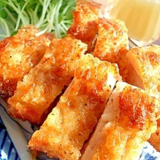 ガッツリにんにく!鶏肉のにんにく塩から揚げ