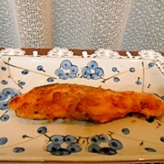 生鮭のホイル焼き