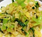 キャベツと小松菜のおかか和え