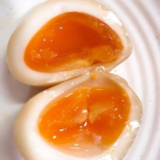 味付けはめんつゆのみ★半熟味玉