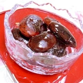 圧力鍋de❤紫花豆の煮豆❤