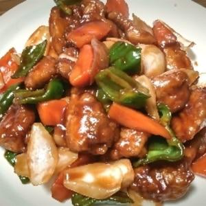 お弁当に★豚こま肉で作る簡単酢豚