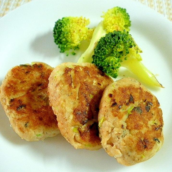 簡単美味しい☆鮭缶のハンバーグ☆