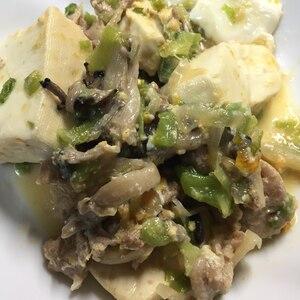 平茸と豆腐のすき焼き煮