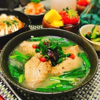 参鶏湯風♡手羽先スープ
