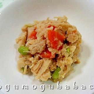 おからとえのきの煮物