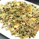 ホウレン草豆腐チャーハン