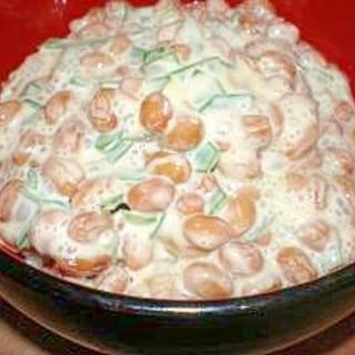 サラダ風♪ねぎマヨ納豆