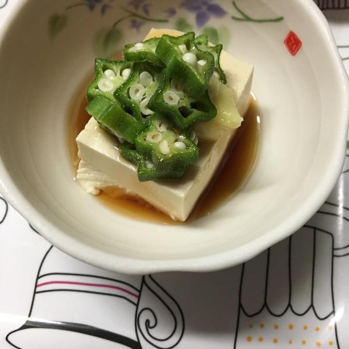 冷奴 木綿 豆腐