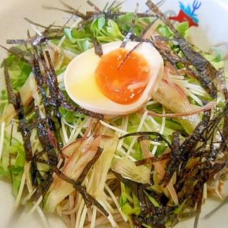 簡単、安い・ヘルシーな☆サラダ蕎麦☆
