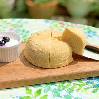 冷やして食べてね♥低糖質なチーズおから蒸しパン