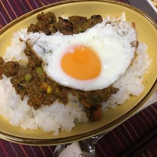 野菜たっぷり、ドライカレー〜