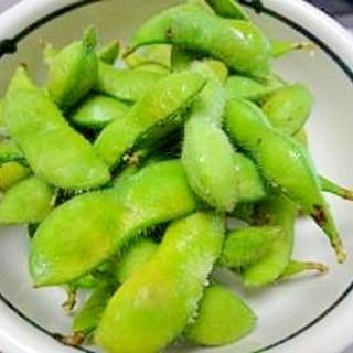 夏☆えだまめを美味しくゆでる!!