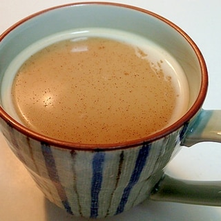 インスタントで はったい練乳コーヒー