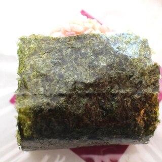 【簡単】明太子高菜マヨネーズのおにぎり