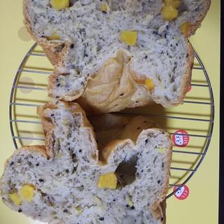 初めから全部入れちゃうさつまいもパン☆HB