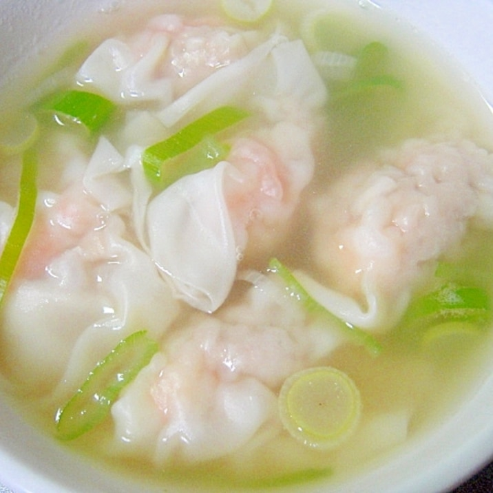 えびワンタンスープ