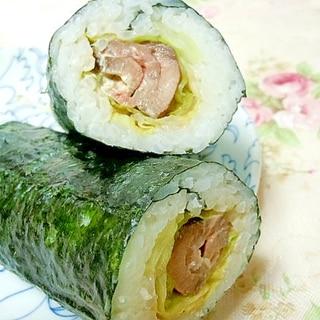 ❤ローストビーフとレタスの巻き寿司❤