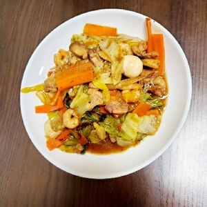 野菜たっぷり★中華丼