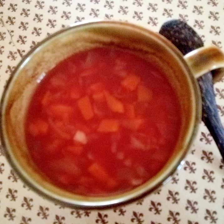 トマトの野菜スープ
