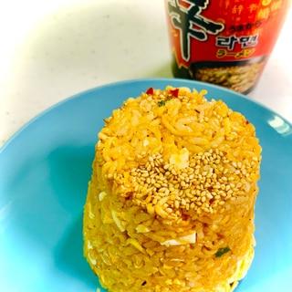 韓国式!カップラーメン炒飯★